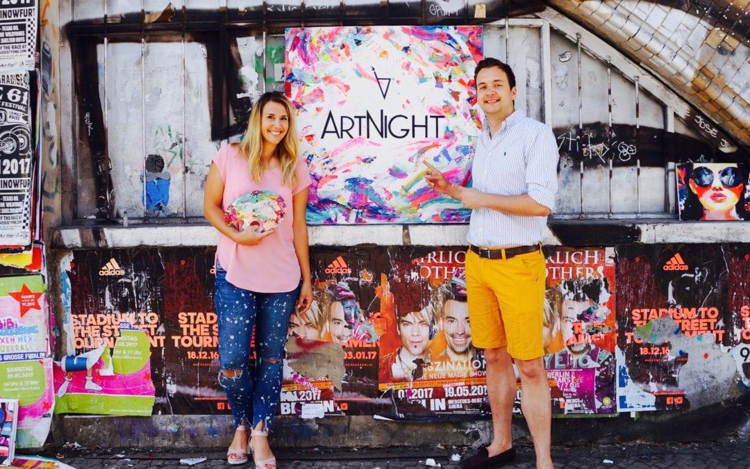 Interview mit ArtNight: Aimie-Sarah Henze und David Neisinger