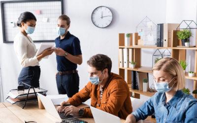 Corona und Arbeitsalltag: Hygienemaßnahmen für Büroräume